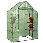 MascarelloPortable-Mini-8-Shelves-Walk-In-Greenhouse-Outdoor-4-Tier-Green-House-New-0