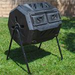 MaxWorks-80699-Garden-Compost-Bin-Tumbler-42-Gallon-Capacity-with-2-Chambers-Dual-Rotating-Composting-Tumbler-0-2