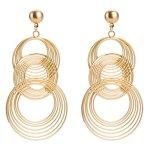 Metal-Circle-Clip-on-Long-Tassel-Hoop-Earrings-Art-Deco-Gift-for-Girls-Women-0