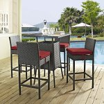 Modway-EEI-1967-CHC-RED-SET-5-Piece-Sojourn-Outdoor-Patio-Sunbrella-Pub-Set-Canvas-Red-0