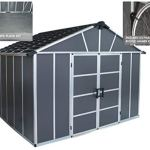 Palram-HGK122-Yukon-Storage-Sheds-wFloor-and-2-Bike-Hooks-0