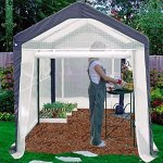 Premium-Mini-Greenhouse-Miniature-Plastic-Gardening-Cover-Portable-for-Patio-or-Backyard-in-Small-6×8-Shed-Frame-0-0