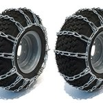 The-ROP-Shop-Pair-2-Link-TIRE-Chains-18x65x8-fits-Many-Can-Am-Quest-Outlander-Renegade-ATV-0