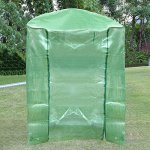 Walk-In-Greenhouse-Cover-Plastic-Replacement-Garden-Cover-2-Tier-8-Shelf-Portable-Green-House-Plant-Cover-Lawn-PECover-only-no-iron-stand-no-flower-pot-0-0