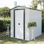 Weizhengheng-Color-Steel-Outdoor-Storage-Shed-Lifetime-Garden-Shed-5-X-6-ft-0-0