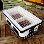 Yakitori-Grill-Charcoal-Backyard-Tabletop-Portable-Grill-Rectangle-White-Charcoal-Grill-with-Handles-E-Book-0-0