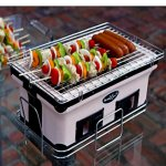 Yakitori-Grill-Charcoal-Backyard-Tabletop-Portable-Grill-Rectangle-White-Charcoal-Grill-with-Handles-E-Book-0-2