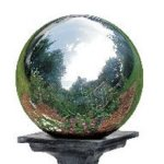 10-Inch-Silver-Stainless-Steel-Gazing-Globe-0