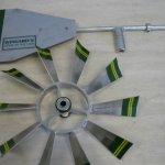 4-Ft-Premium-Aluminum-Decorative-Garden-Windmill-Green-Trim-0-0
