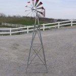 6-Ft-Premium-Aluminum-Decorative-Garden-Windmill-Green-Trim-0