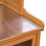 713-Wood-Potting-Bench-Cabinet-Garden-Tools-Shed-Storage-Work-Station-0-2