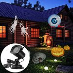 AcTopp-Christmas-Projector-Lights-Outdoor-Holiday-Light-Projector-with-121-Switchable-Pattern-Lens-Led-Landscape-Spotlight-Valentines-Day-Motion-Lamp-Lights-for-Garden-Home-Decoration-Birthday-0-2