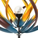 Best-Choice-Products-75-Solar-Multi-Color-Tulip-Wind-Spinner-Solar-Powered-Glass-Ball-Emits-Color-Changing-Light-0-1