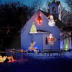 Bjour-Christmas-Light-Projector-Outdoor-Indoor-Decorations-Waterproof-with-14-Rotating-Slides-and-4-Speed-Modes9W-UL-Listed-YG-FL02-14-Rotating-Slides-0-0