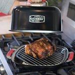 Charcoal-Companion-CC4132-KitchenQue-Indoor-Stovetop-Smoker-155-x-127-x-97-Black-0-1