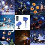 Christmas-Projector-Light-AVEKI-Animated-Projector-Lights-8-Replaceable-Slides-Waterproof-Landscape-Projector-with-RF-Remote-Control-for-Halloween-Christmas-Party-and-Garden-Decoration-0-4
