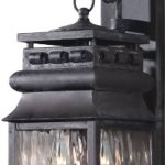 Elk-807-C-6-12-by-21-Inch-Lancaster-2-Light-Artistic-Outdoor-Wall-Lantern-with-Water-Glass-Shade-Charcoal-Finish-0