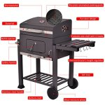 JedaJeda-NEW-Backyard-Charcoal-Grill-Barbecue-BBQ-Outdoor-Patio-Cooking-Portable-Wheels-0-1
