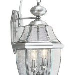 Livex-Lighting-2251-91-Monterey-2-Light-Outdoor-Brushed-Nickel-Finish-Solid-Brass-Wall-Lantern-with-Clear-Beveled-Glass-by-Livex-Lighting-0