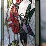 Mexicolour-Humming-bird-Stained-Glass-Leaded-Tiffany-Style-Garden-Home-Window-Panel-Handcrafted-Sun-Catcher-0-1