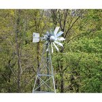 Outdoor-Water-Solutions-AWS0011-12-Feet-Galvanized-3-Legged-Aeration-System-Windmill-0-1