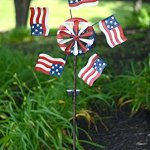 Red-Carpet-Studios-Metal-Yard-Stake-Wind-Spinner-with-Solar-Powered-Lights-American-Flag-0-0