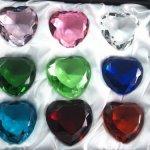 Sapphire-Amber-Emerald-Crystal-Heart-Diamond-Set-of-12-40mm-0-0