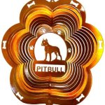 Stainless-Steel-Wind-Spinner-12-Animal-Dog-Breed-Pitbull-Copper-Starlight-0