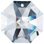 Swarovski-STRASS-Set-of-50-8115-14mm-Clear-Octagon-Lily-1-Hole-Swarovski-Crystal-Chandelier-Parts-0