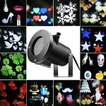 Tradinno-Christmas-LED-Projector-Light-Waterproof-12-Patterns-Slides-Holiday-Party-Lights-for-Birthday-Halloween-Garden-Decoration-0-0