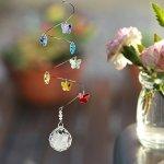 Woodstock-Chimes-CS20-Rainbow-Makers-Suncatchers-Crystal-Spiral-Butterflies-Medium-0-0