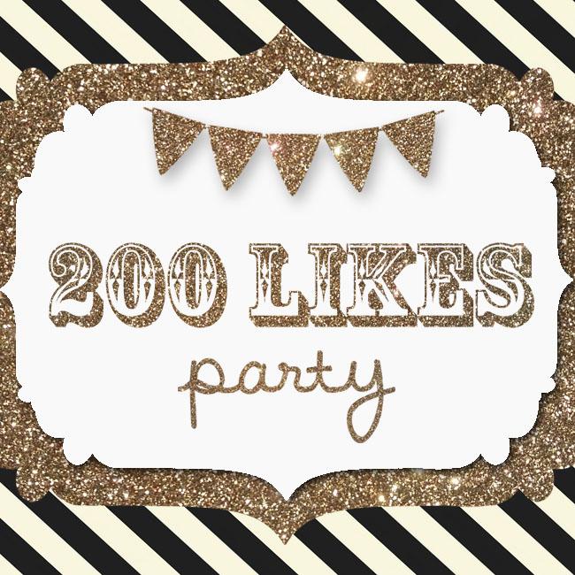 200 likes celebration