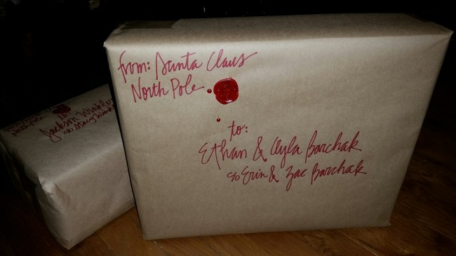 package from santa
