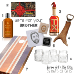 {25 Days of Gifts} Day 7: Your Brother