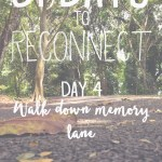 31 day challenge | Day 4: Walk down memory lane with your siblings