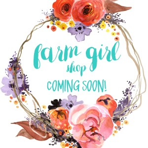 Farm Girl shop coming soon! Make sure to subscribe to the newsletter for the details (via farm girl big city)