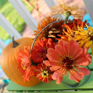 Thanksgiving Centerpiece DIY
