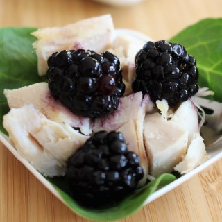 Blackberry Balsamic Vinegar Chicken Salad Recipe