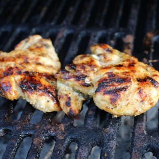 Tequila Lime Grilled Chicken for a Dinner for Two