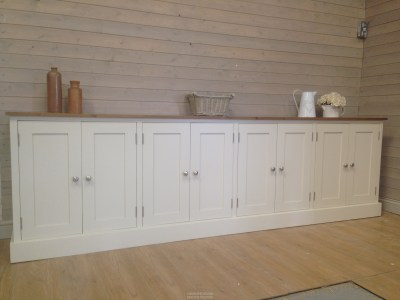 Pine Sideboards, Solid Pine 9ft Sideboard, Farmhouse ...
