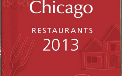 Farmhouse Chicago in the 2013 Michelin Guide Chicago
