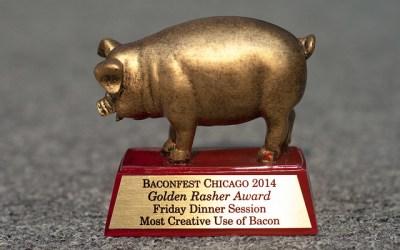 Farmhouse Wins Golden Rasher Award at Baconfest 2014