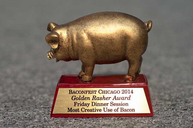 Farmhouse Wins Golden Rasher Award at Baconfest 2014