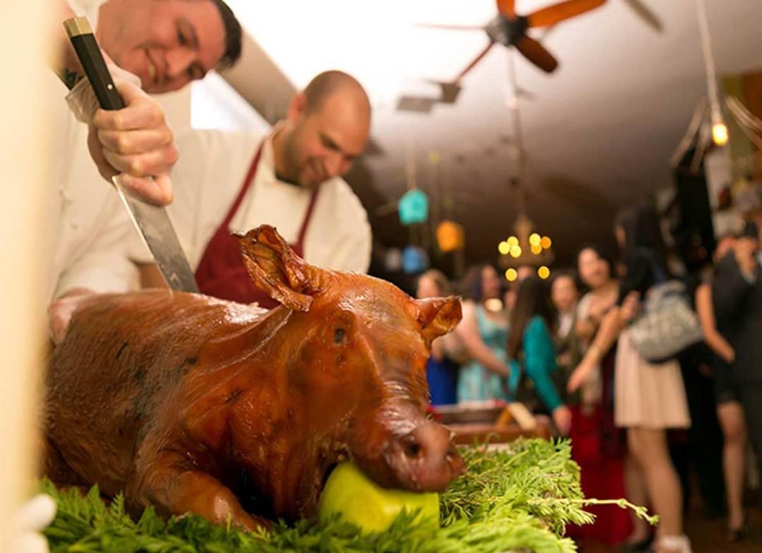 Farmhouse Chicago 2nd floor Pig Roast Event