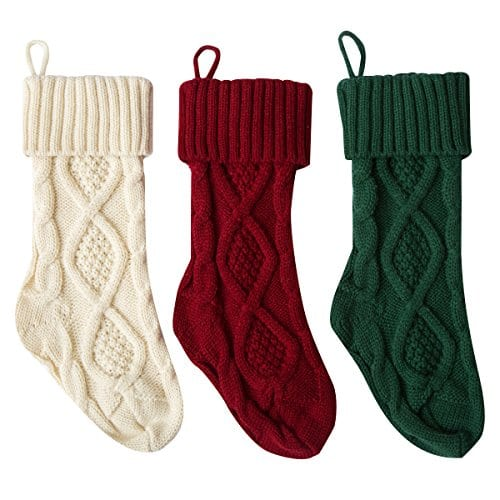 white knit christmas stockings sale on sale - White Knit Christmas Stockings