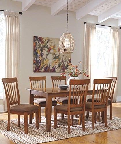 Ashley Furniture Signature Design Berringer Farmhouse Dining Room Table