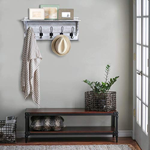 brown wooden country style entryway