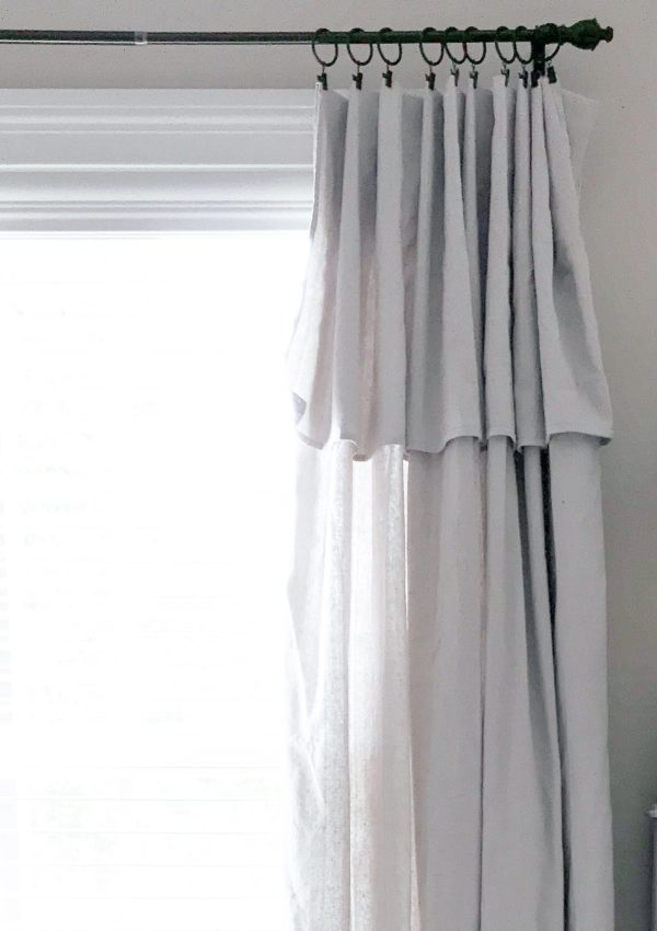 Dropcloth Curtains: The Farmhouse(ish) Hack You Can Do Today For Next To Nothing