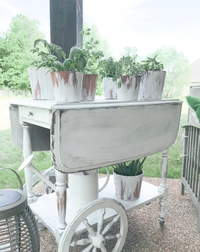 Farmhouseish - Herb Garden Tea Cart