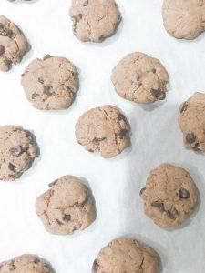 Pumpkin Chocolate Chip Cookies Baking Sheet - Farmhouseish